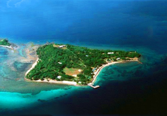 Grande Island (View from the top)