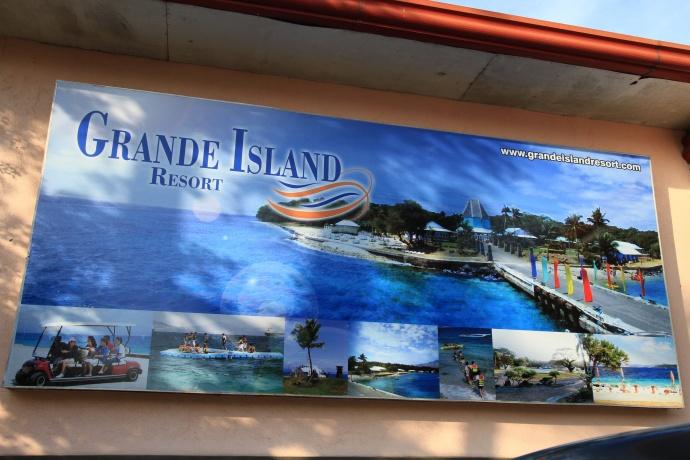 Grande Island signage
