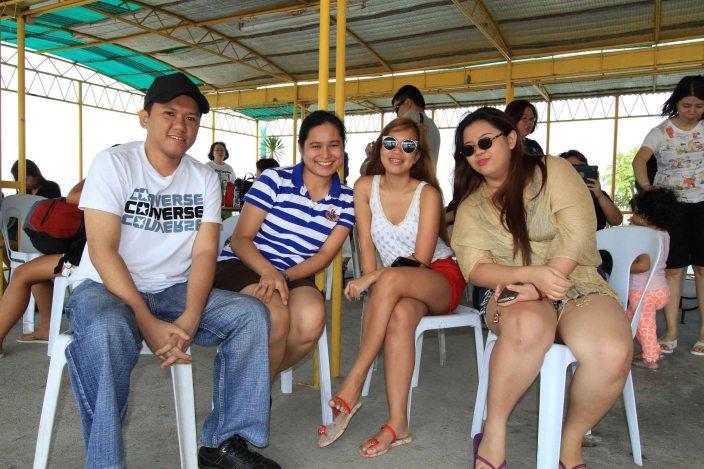 Jonathan, Isabel, Me, and Rachel