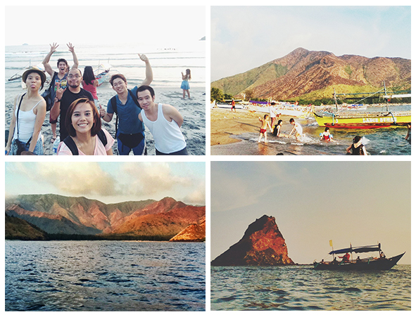 The Gang / Mt. Pundaquit / Anawangin Cove / Islet and the Boat