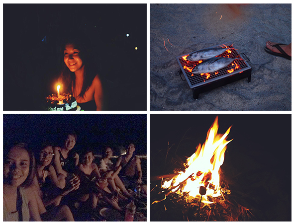 Rona's Birthday Celeb / Dinner / Night Party / Smores x Bonfire